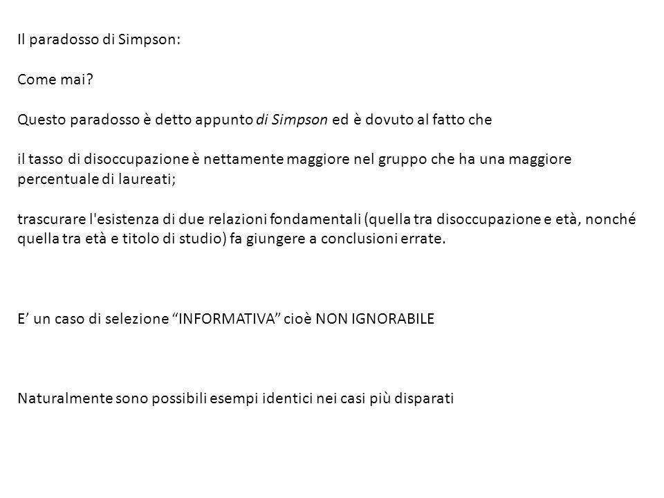 Il paradosso di Simpson: