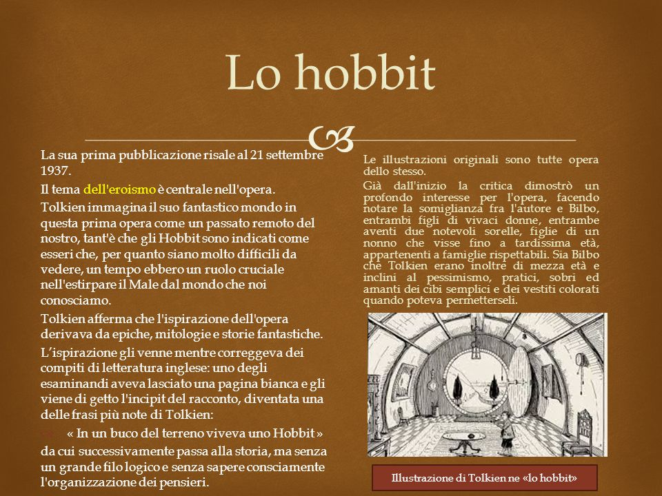 Illustrazione di Tolkien ne «lo hobbit»