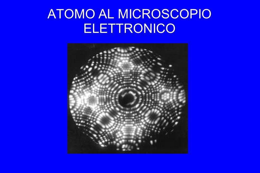 ATOMO AL MICROSCOPIO ELETTRONICO