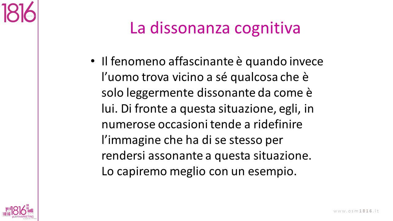 La dissonanza cognitiva