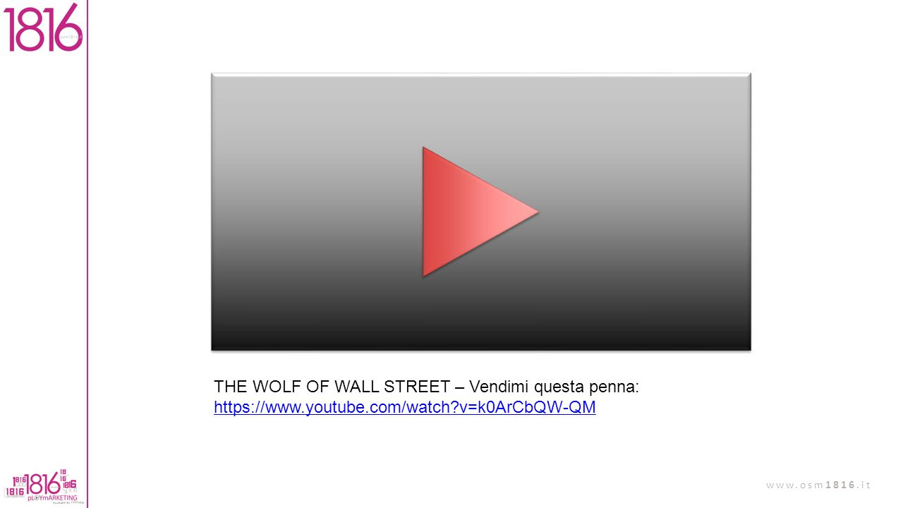 THE WOLF OF WALL STREET – Vendimi questa penna: