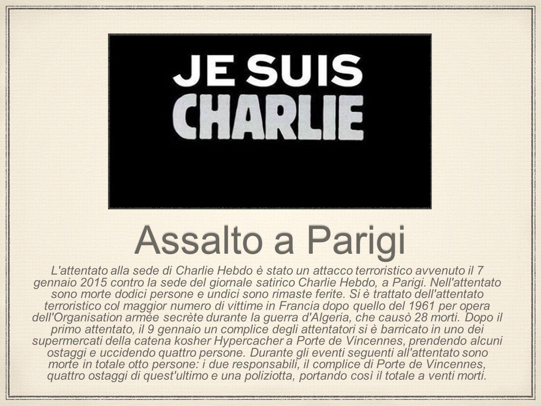 Assalto a Parigi