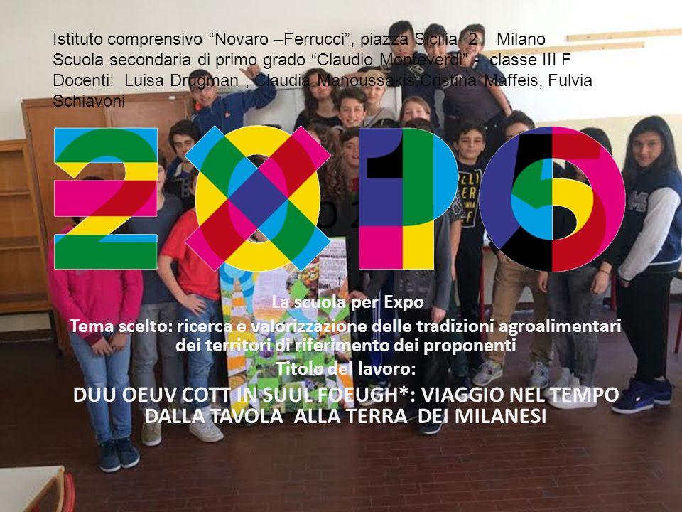 Istituto comprensivo Novaro –Ferrucci , piazza Sicilia 2 Milano