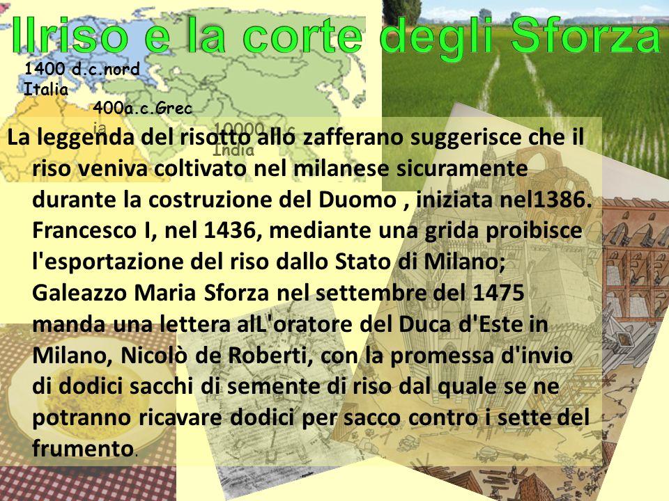 Ilriso e la corte degli Sforza