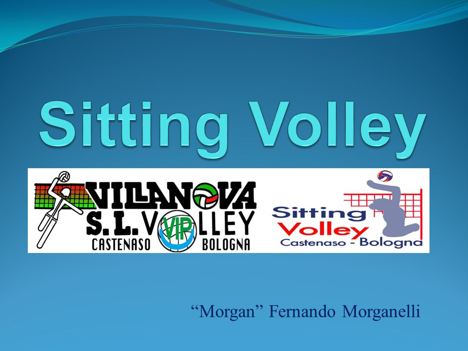 Sitting Volley Morgan Fernando Morganelli