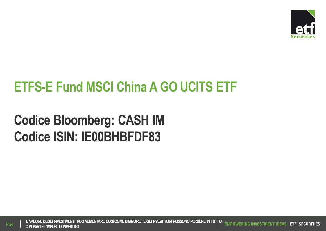 ETFS-E Fund MSCI China A GO UCITS ETF