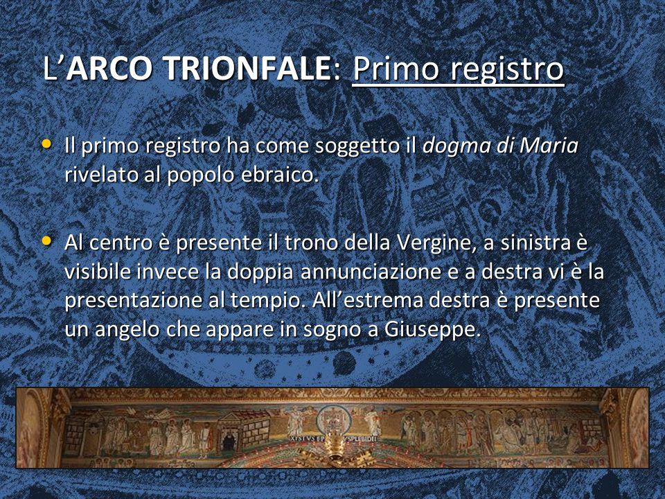 L'ARCO TRIONFALE: Primo registro