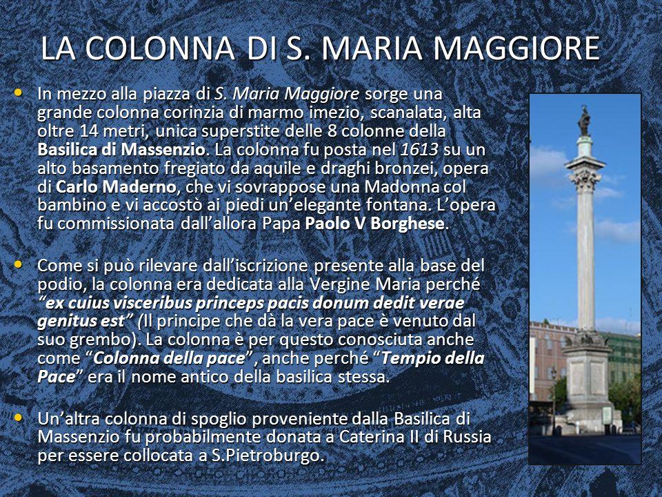 LA COLONNA DI S. MARIA MAGGIORE