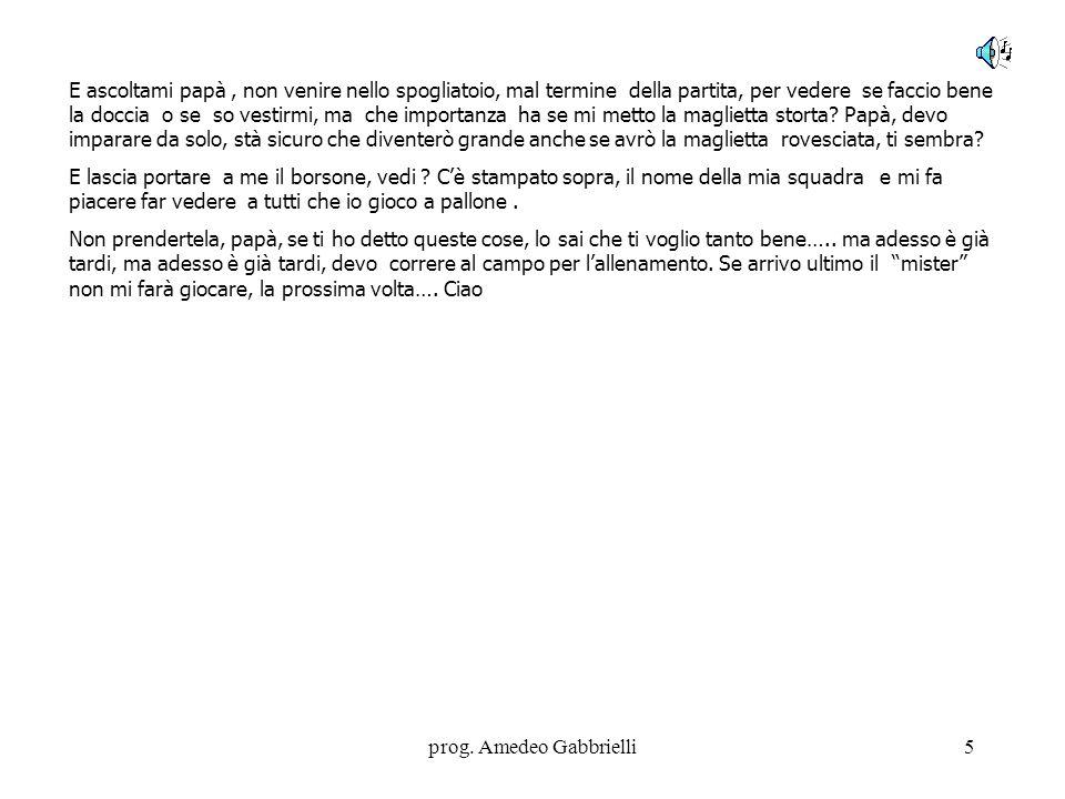 prog. Amedeo Gabbrielli