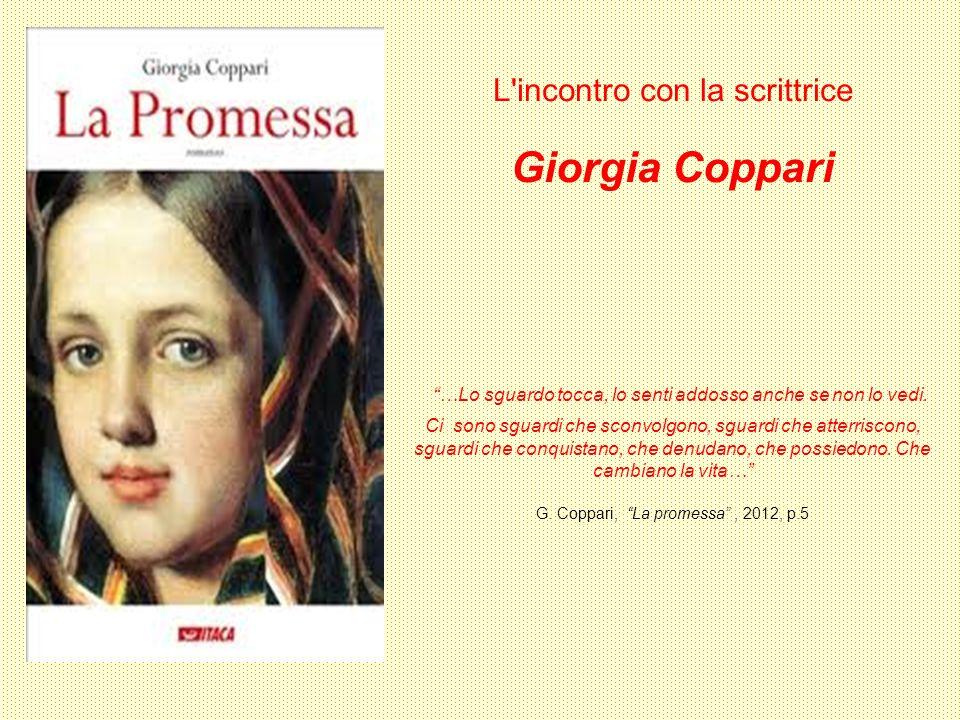 L incontro con la scrittrice Giorgia Coppari