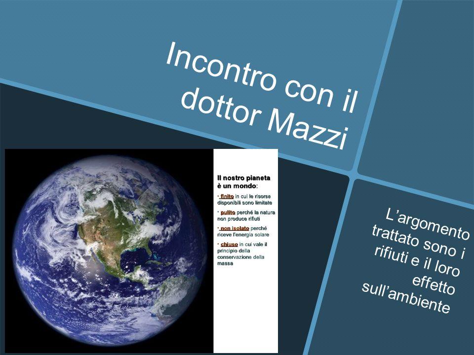 Incontro con il dottor Mazzi