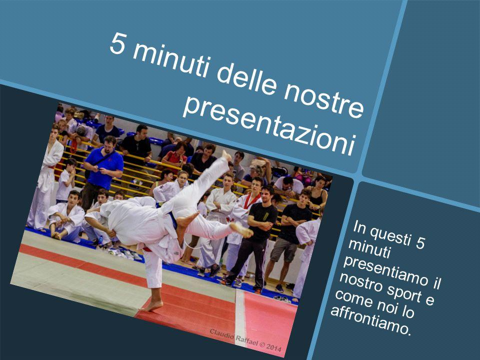 5 minuti delle nostre presentazioni
