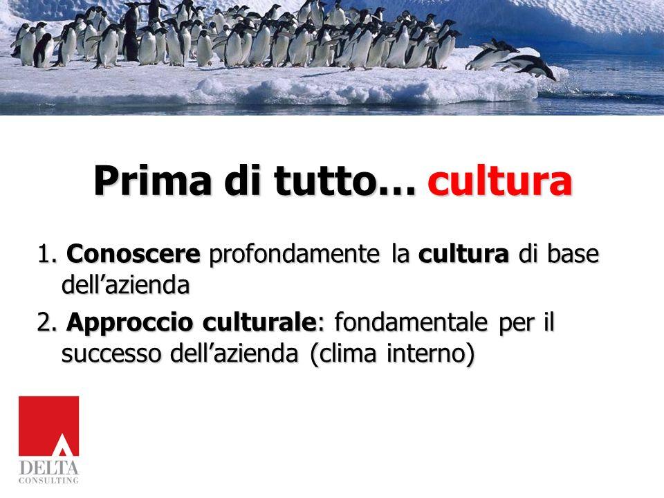 Prima di tutto… cultura