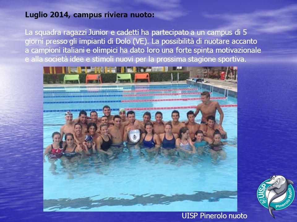 Luglio 2014, campus riviera nuoto: