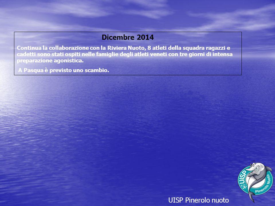 Dicembre 2014 UISP Pinerolo nuoto