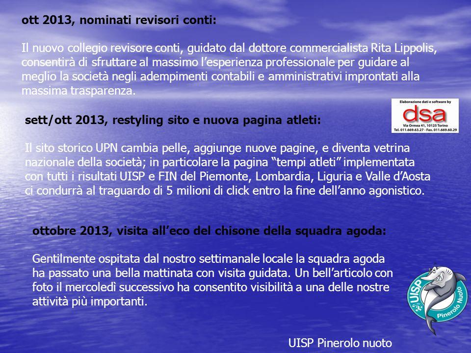 ott 2013, nominati revisori conti: