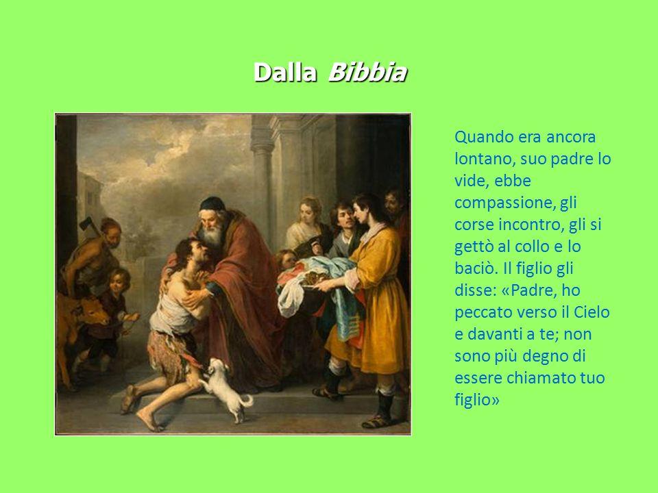 Dalla Bibbia