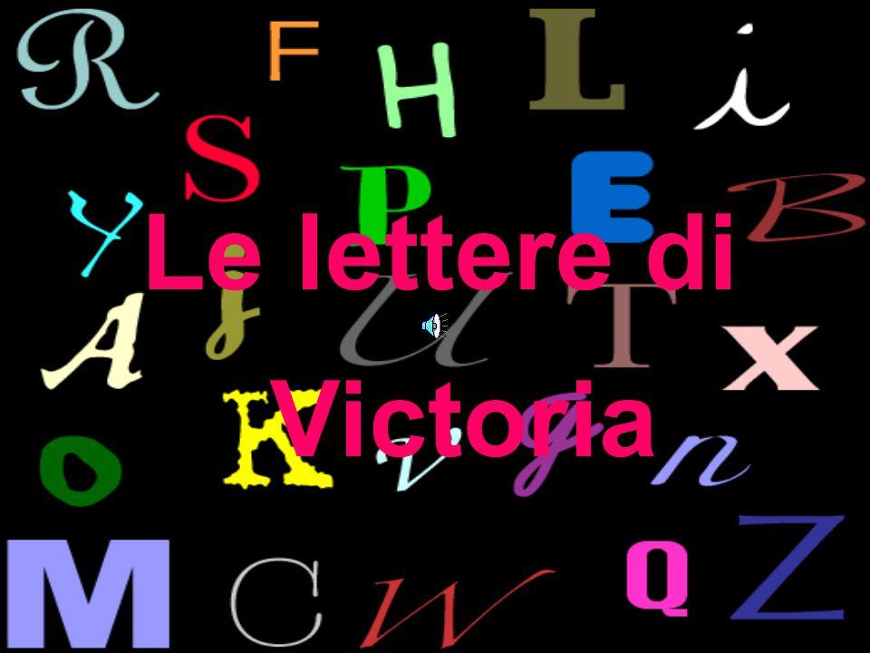 Le lettere di Victoria