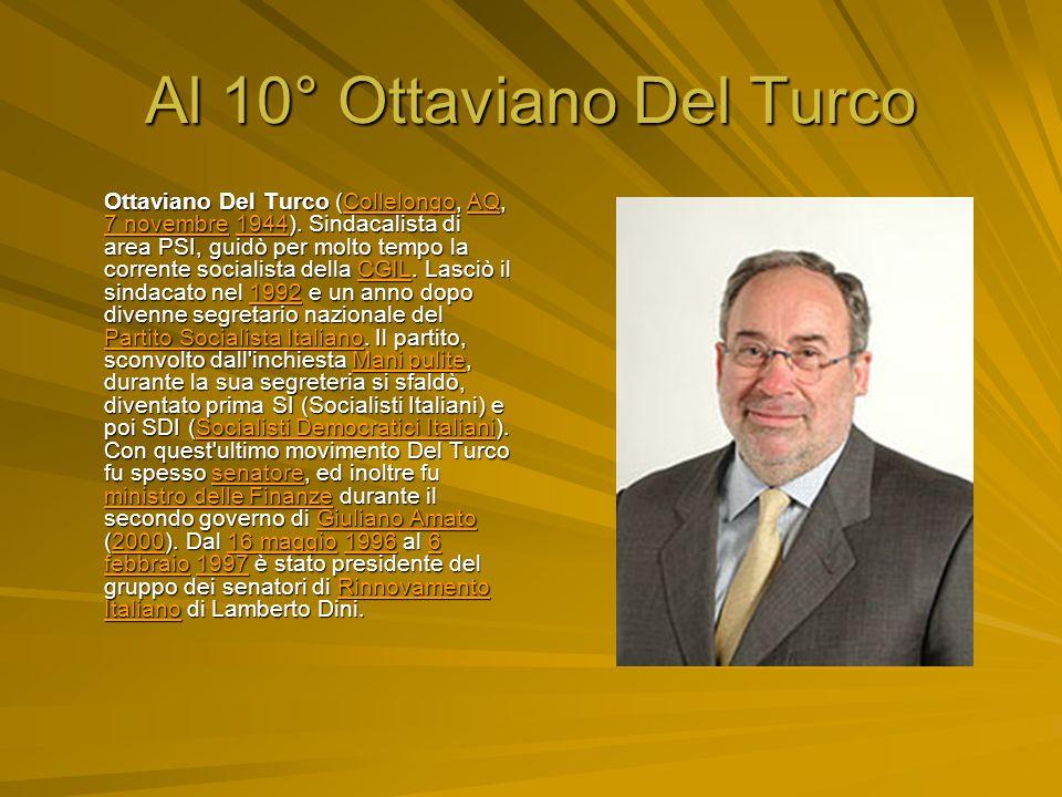 Al 10° Ottaviano Del Turco
