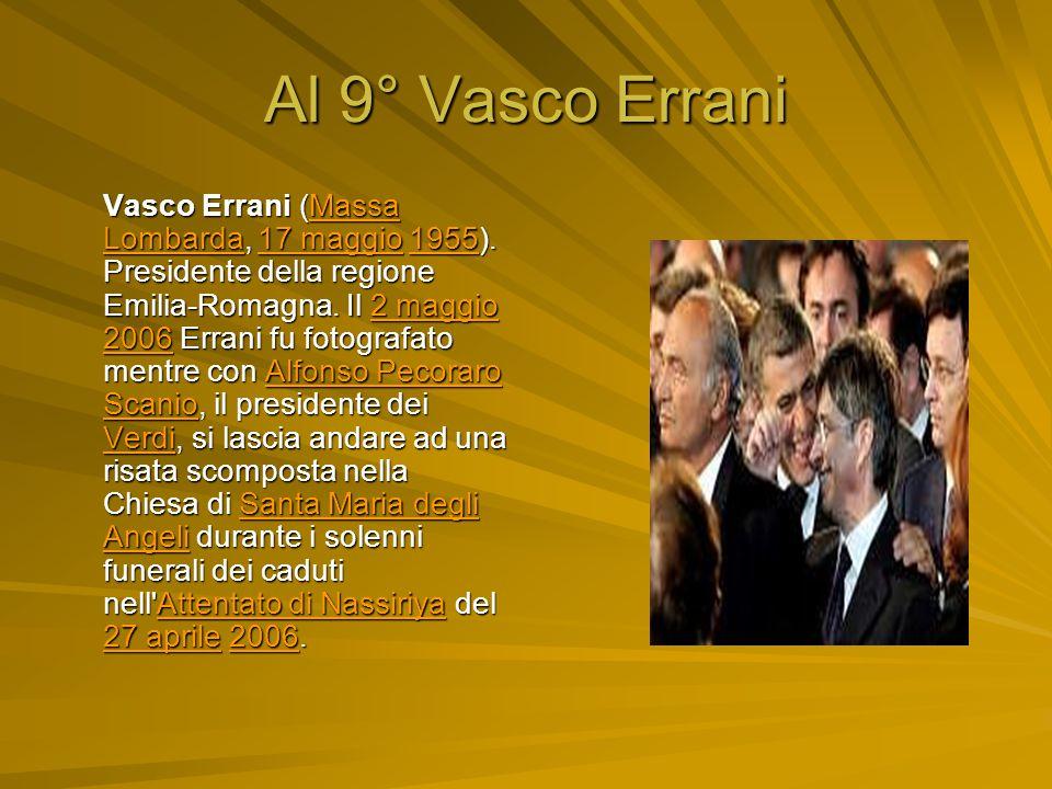 Al 9° Vasco Errani