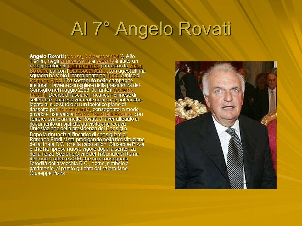 Al 7° Angelo Rovati