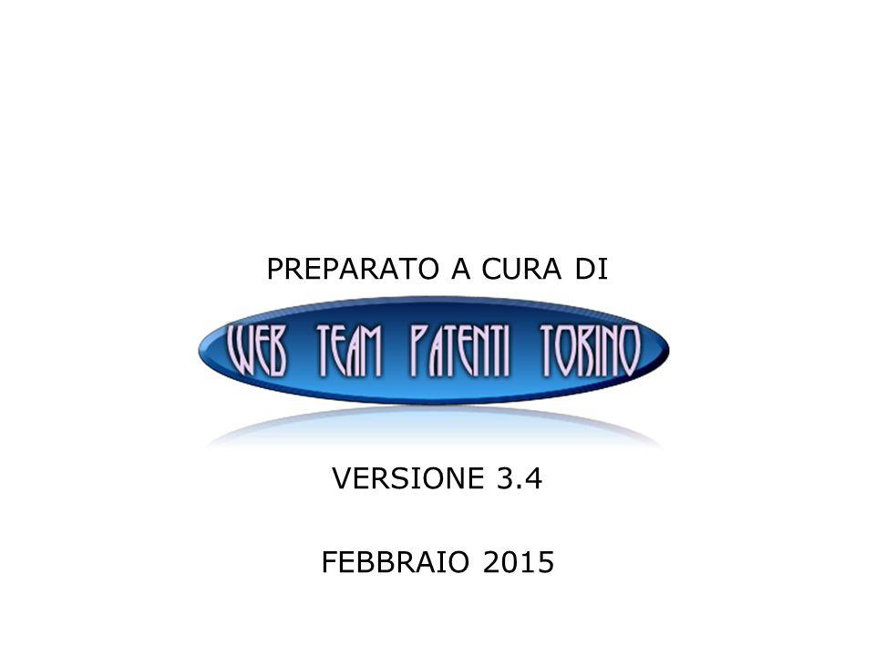 PREPARATO A CURA DI VERSIONE 3.4 FEBBRAIO 2015