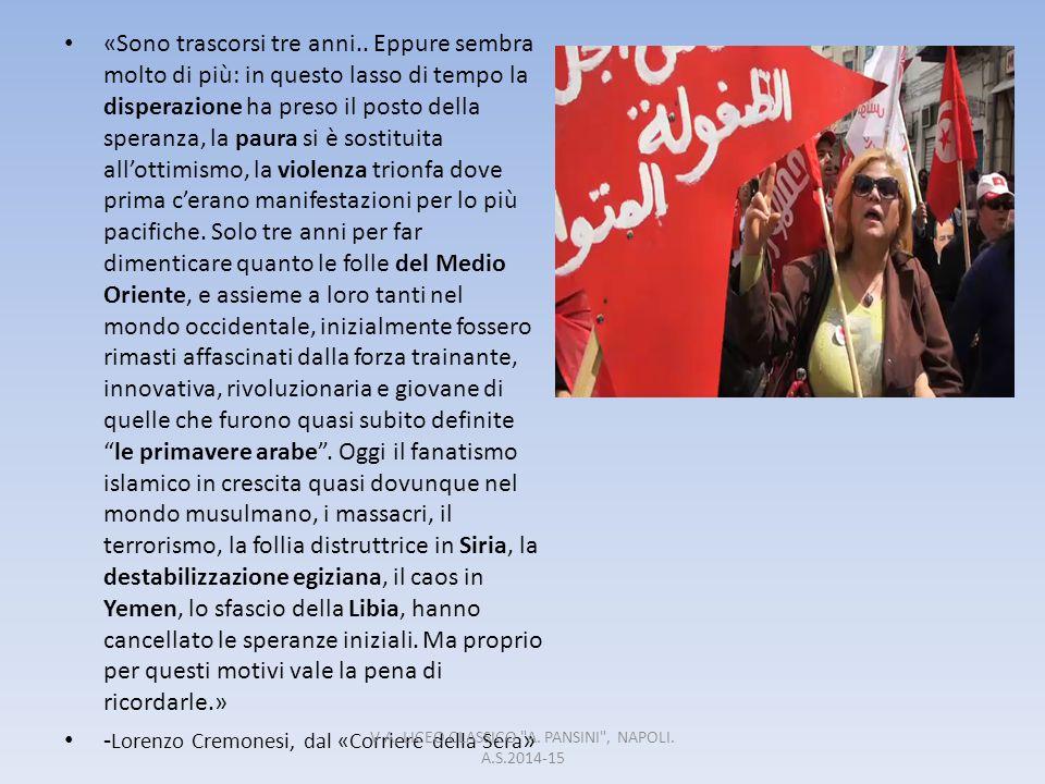 V A, LICEO CLASSICO A. PANSINI , NAPOLI. A.S.2014-15