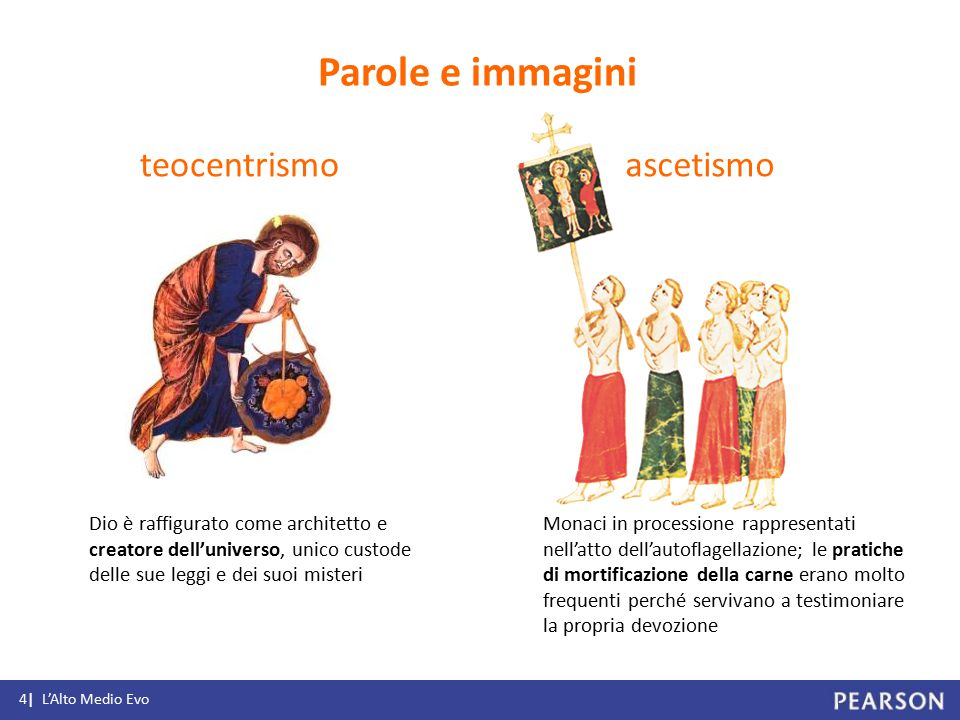 Parole e immagini teocentrismo ascetismo