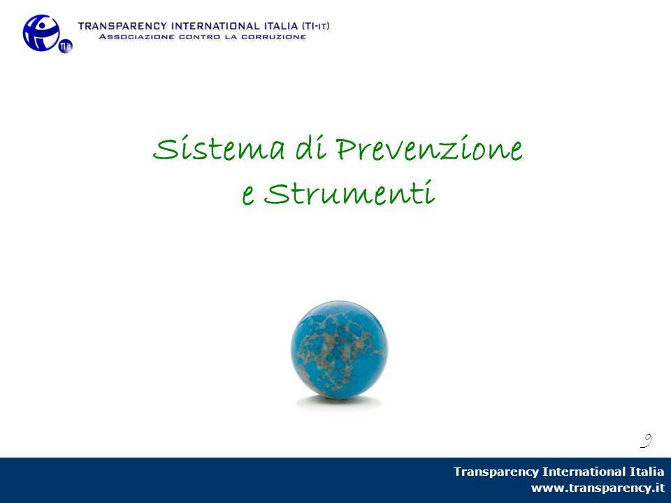 Sistema di Prevenzione e Strumenti