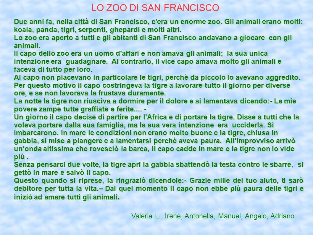 LO ZOO DI SAN FRANCISCO