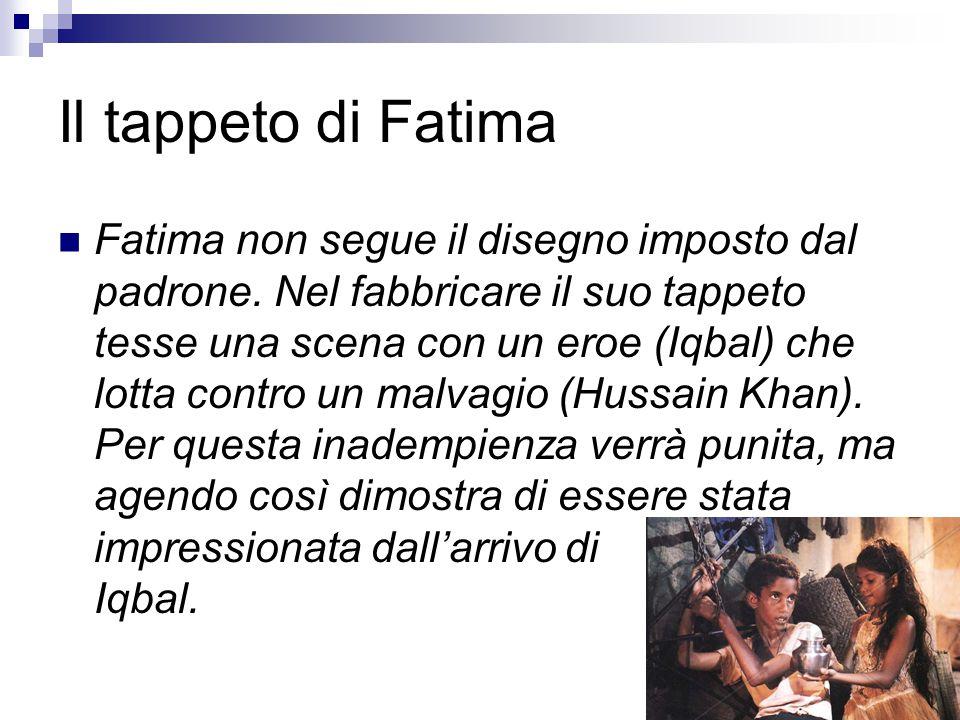Il tappeto di Fatima