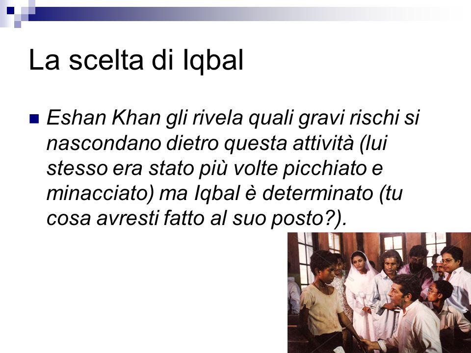 La scelta di Iqbal