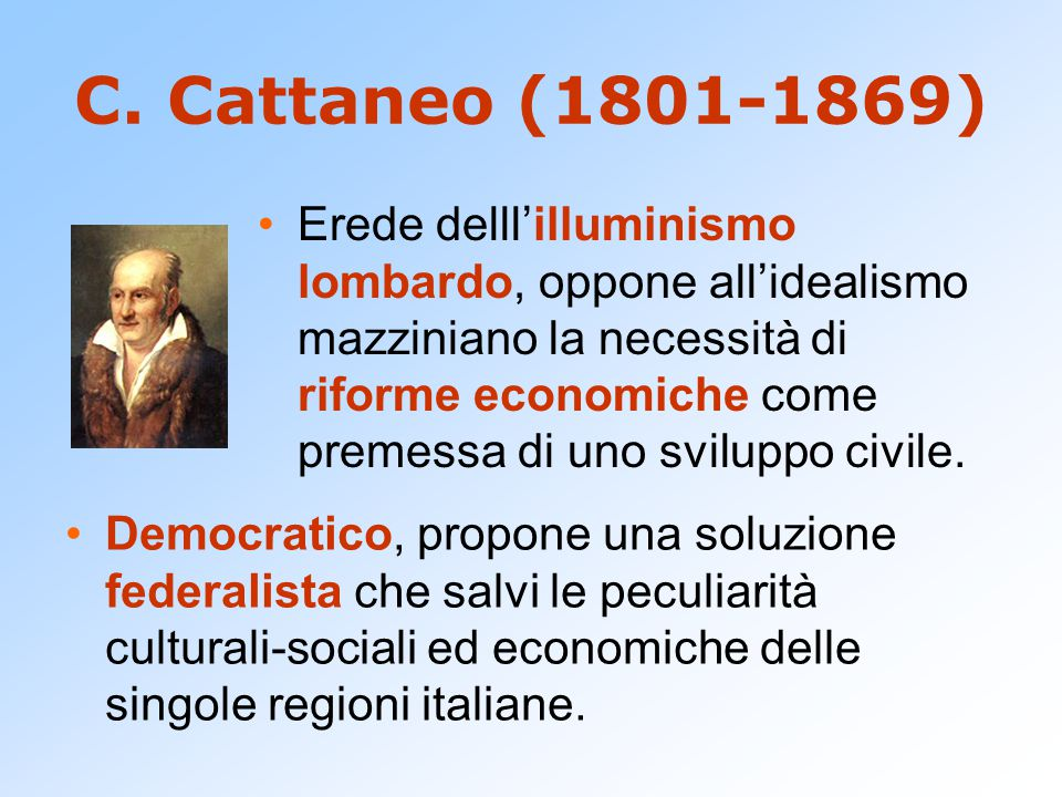 C. Cattaneo (1801-1869)