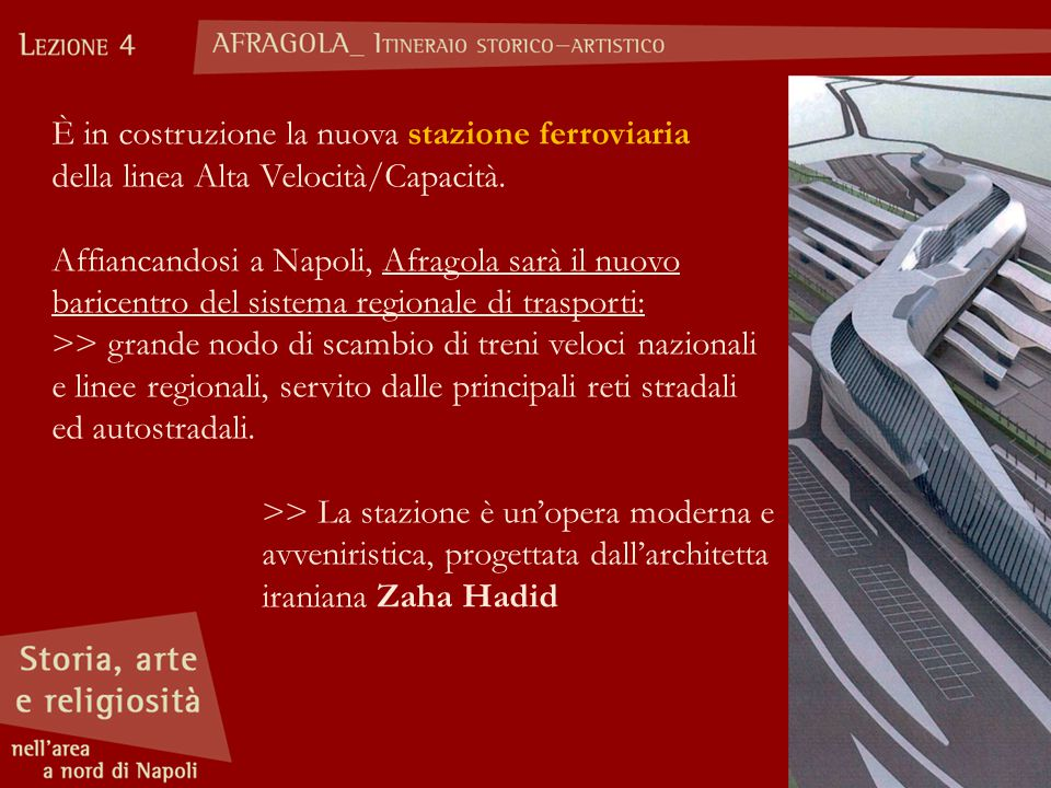 È in costruzione la nuova stazione ferroviaria