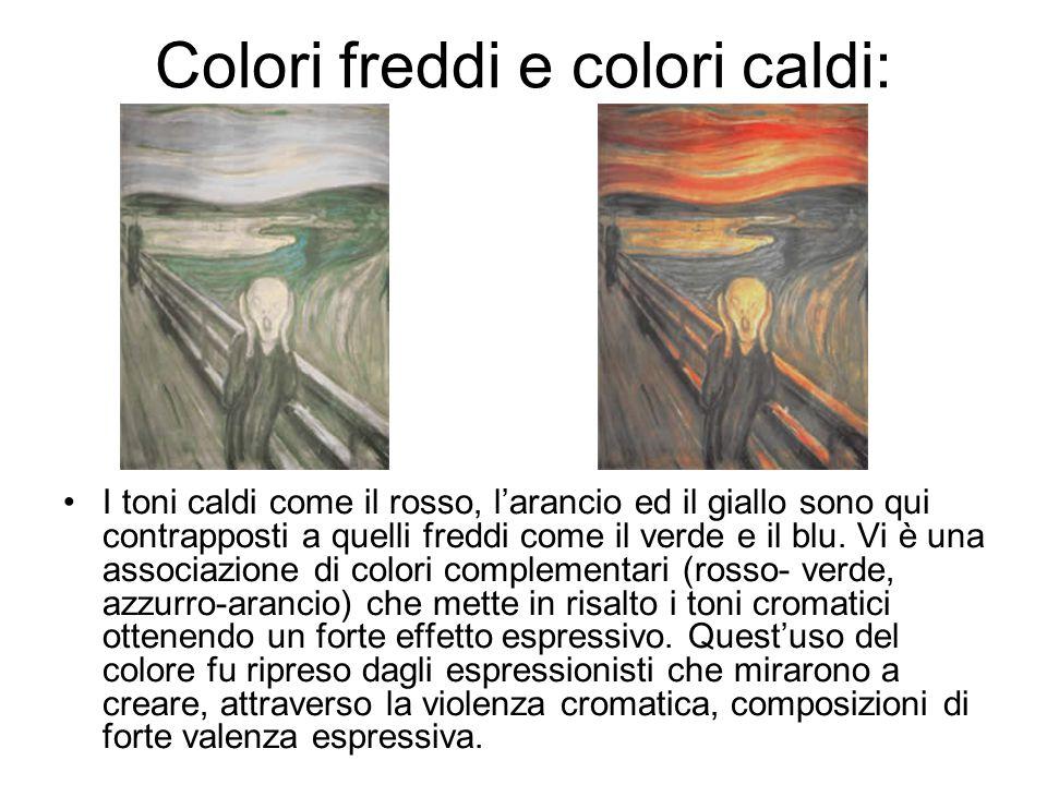Colori freddi e colori caldi: