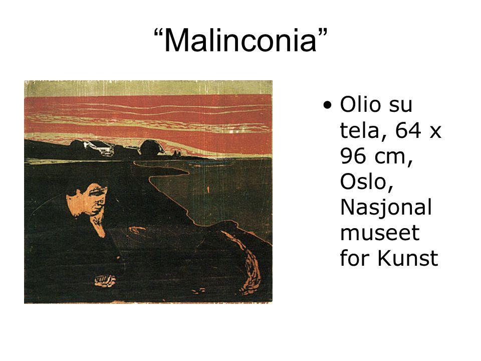 Malinconia Olio su tela, 64 x 96 cm, Oslo, Nasjonalmuseet for Kunst