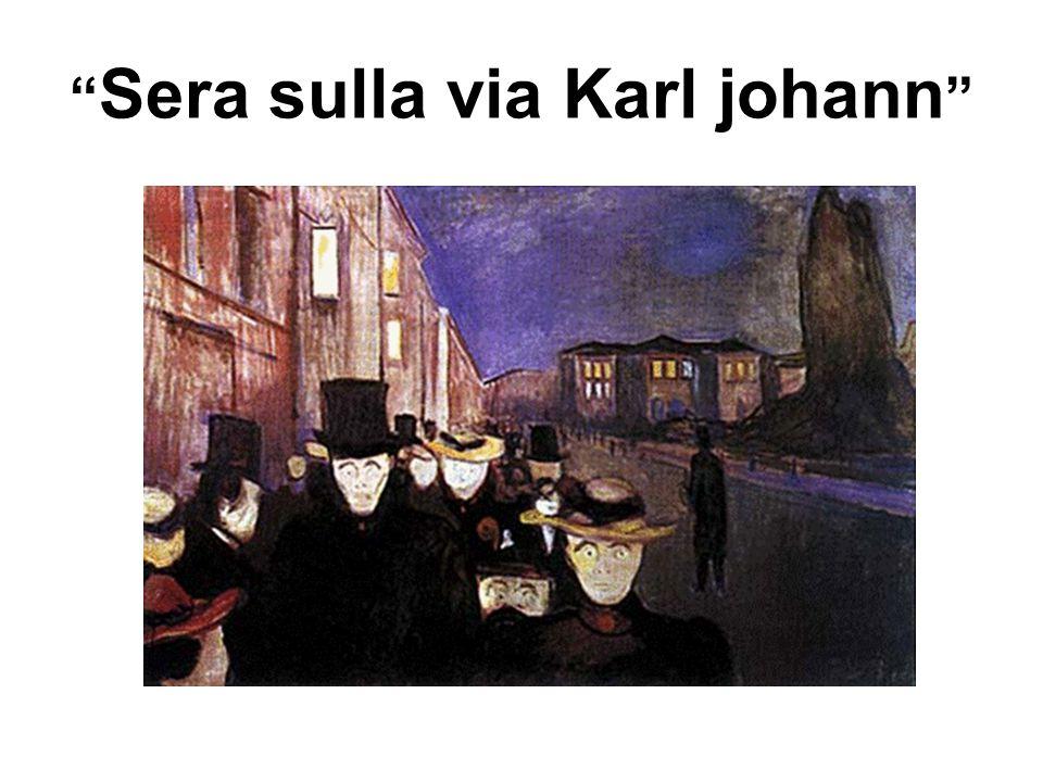Sera sulla via Karl johann