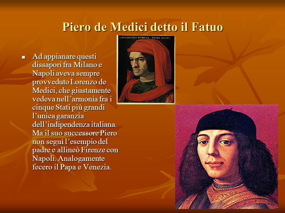 Piero de Medici detto il Fatuo
