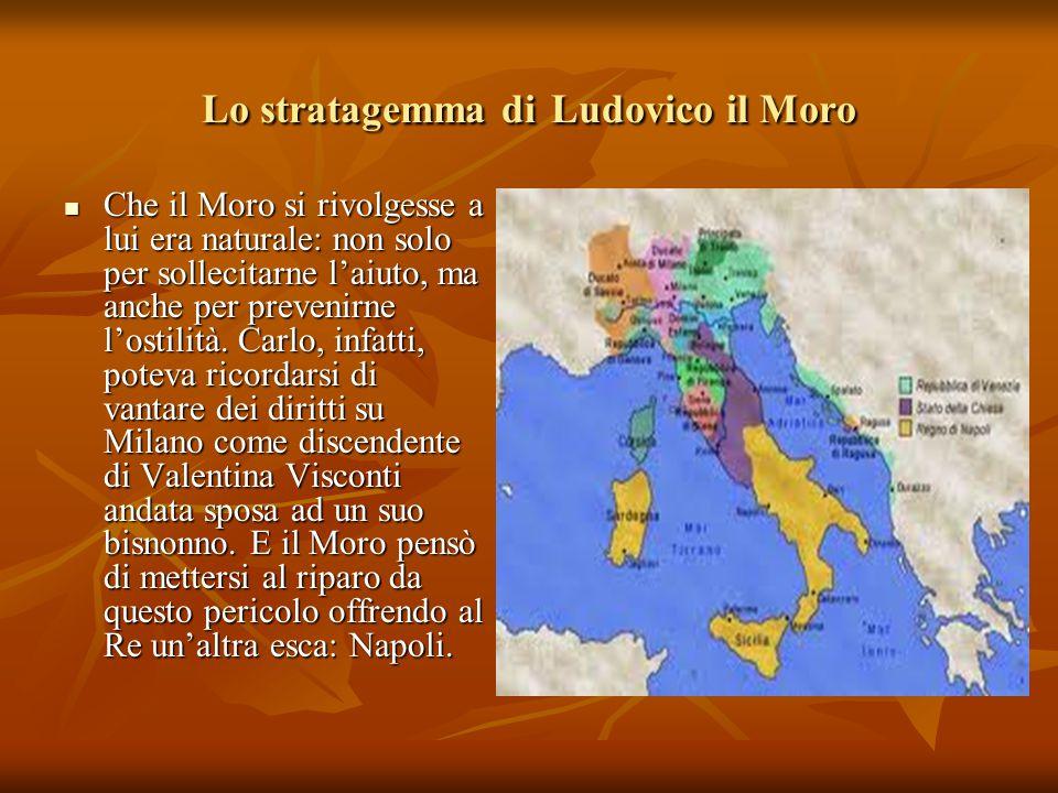 Lo stratagemma di Ludovico il Moro