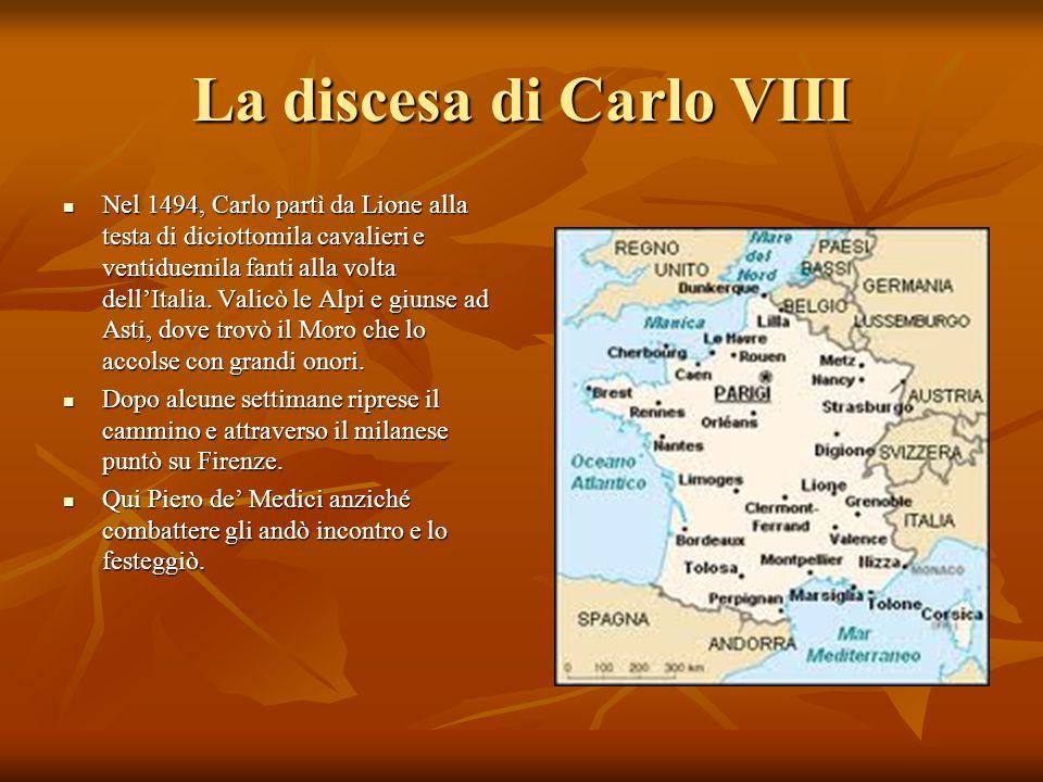 La discesa di Carlo VIII