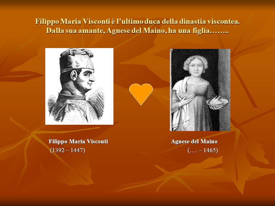 Filippo Maria Visconti è l'ultimo duca della dinastia viscontea
