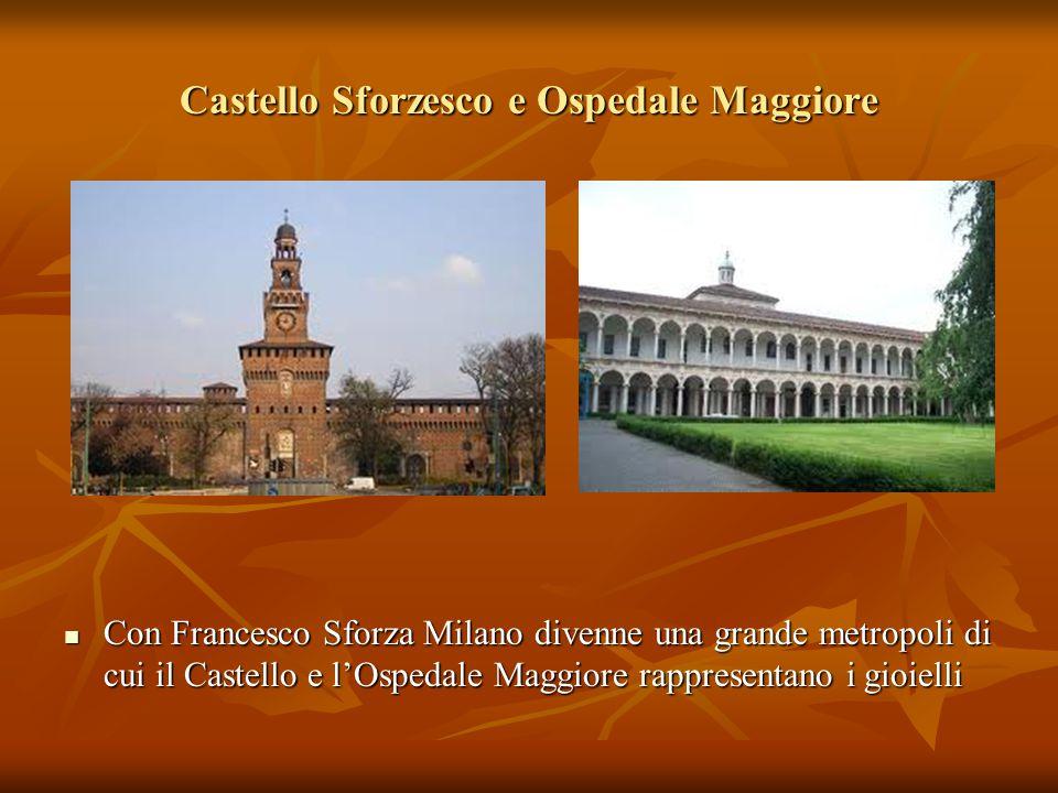 Castello Sforzesco e Ospedale Maggiore