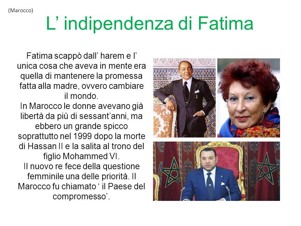 L' indipendenza di Fatima
