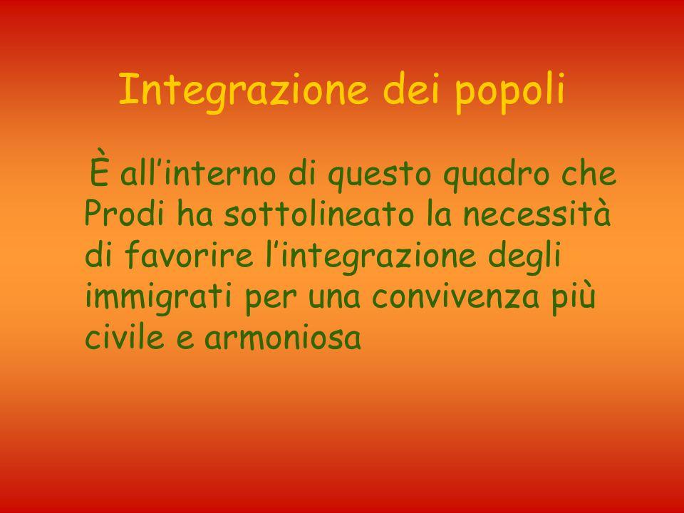 Integrazione dei popoli
