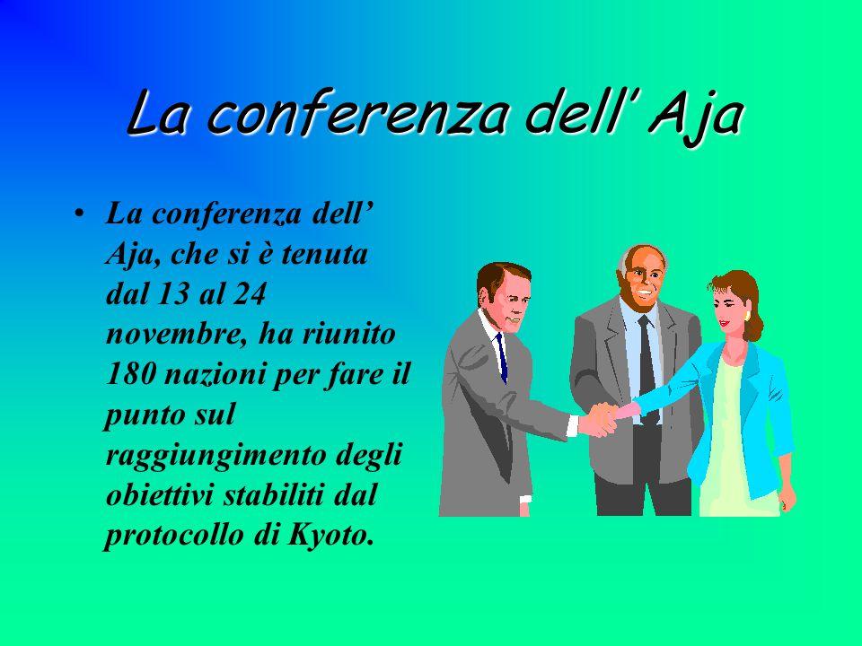 La conferenza dell' Aja