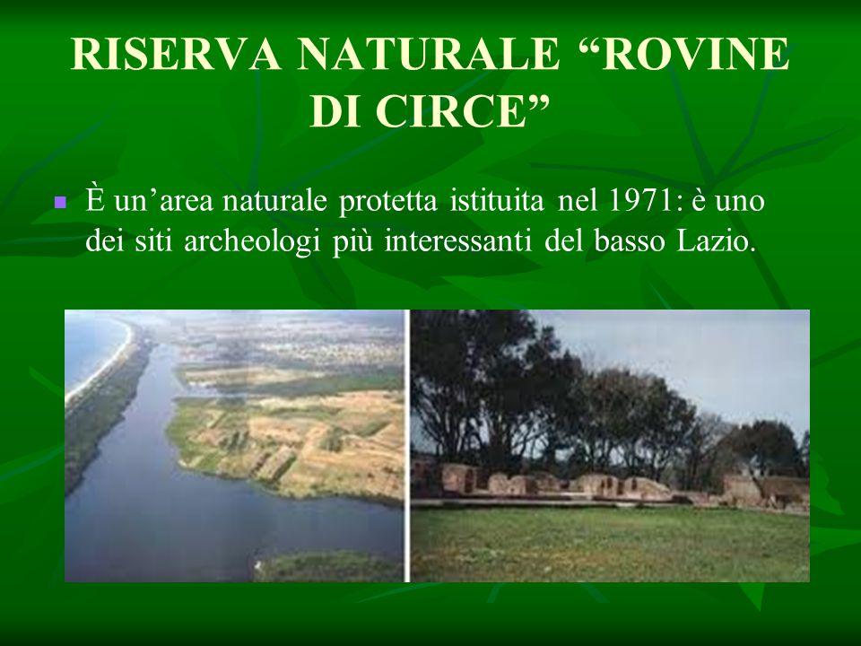 RISERVA NATURALE ROVINE DI CIRCE