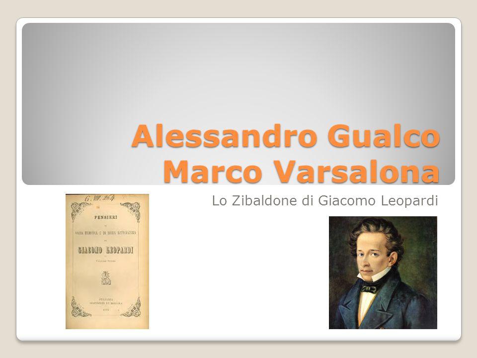 Alessandro Gualco Marco Varsalona