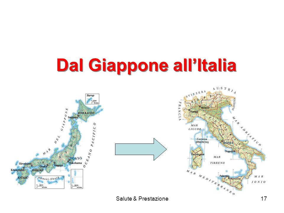 Dal Giappone all'Italia