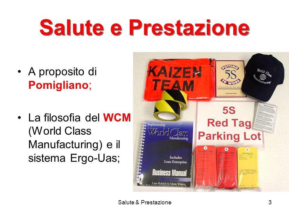Salute e Prestazione A proposito di Pomigliano;