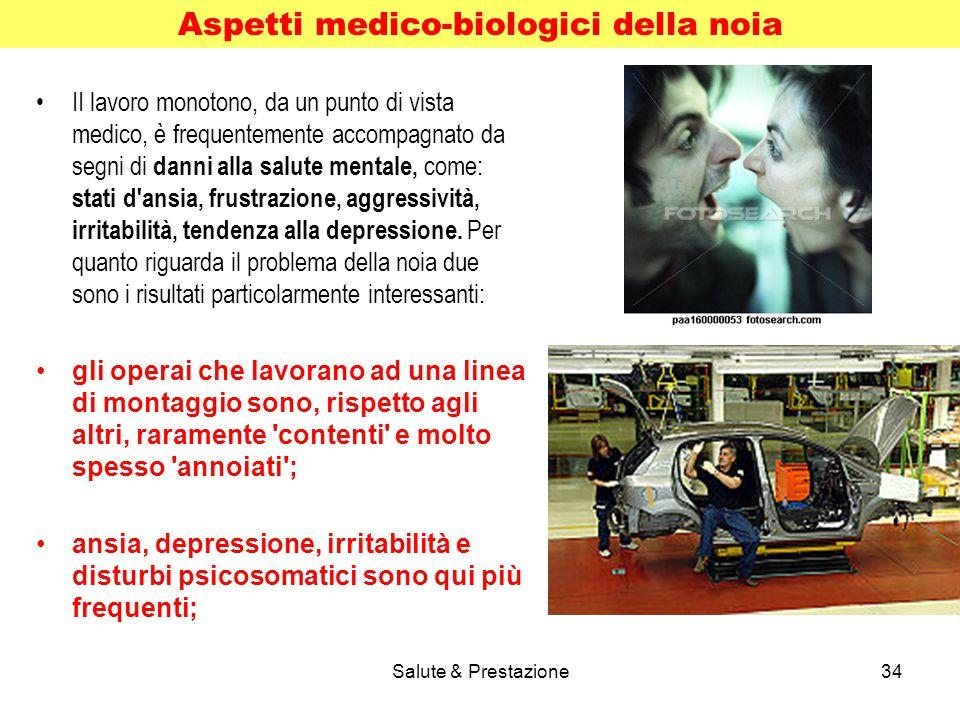 Aspetti medico-biologici della noia